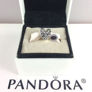 New Pandora Heart Of Winter Charm 791996CZ